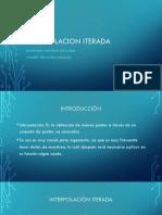 Interpolacion ITERADA.pptx