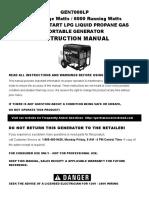 Gen 7000 Lp Manual