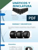 Neumáticos y nomenclatura