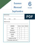 Examen Septiembre6to