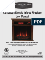 HearthTrends Fireplace EL1239-UserManual-Eng