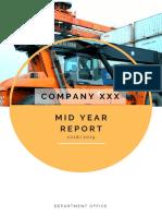 Annual Report Sample Format