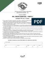 Caderno de questões PM 2017