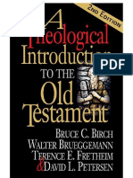 A Theological Inroduction to the Old Testament