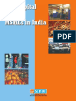 Risk Capital and MSMEs in India