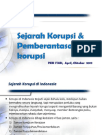 4. Sejarah Korupsi dan Lembaga Anti Korupsi Indonesia