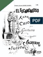 Julio Sagreras-El Escandaloso
