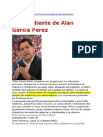El Expediente de Alan García Perez - Fuente