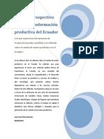 Ejercicio matriz productiva JpPinto