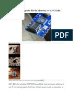 ESP-03 Upgrade Flash Memory to 128 M Bit.docx