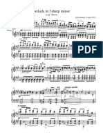prelude in f sharp minor