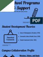 afterschool programs   support