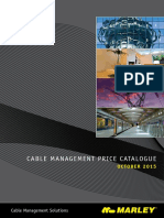 Cable Management Catalogue