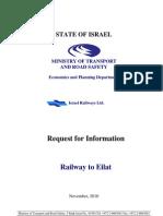 RFI Israel Rail Link