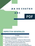 Sistema de costos ABC