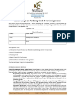 Interior Design and Purchasing Goods Agreement
