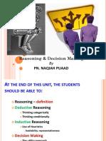 KMF1023 Module 12 Reasoning Decision Making Part 1 - Edited