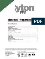 Ryton pps Thermal Properties
