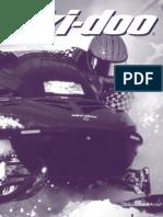 1999 skidoo tundra operator's manual