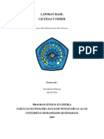 Uji Exsact Fisher_Fazia Risnita(B2A017038)