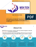 WISHTECH SOLUTIONS-Profile