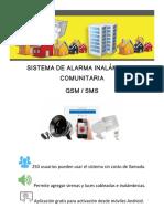 Ficha Tecnica Alarma Comunitaria GSM V6