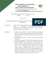 surat keputusan tim penilai