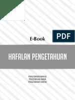 E-book Hafalan Pengetahuan