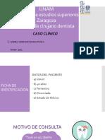 CASO CLÍNICO PRÓTESIS FIJA