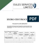 8.2.4_-_JSL-QMS-QP-14-Hydrotest_Procedure[1]