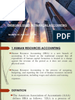 Emerging Issues in Financial Accounting