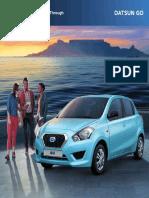 Datsun GO owners manual