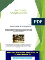 BUENAS PRACTICAS DE ALMACENAMIENTO