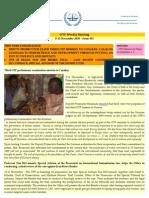 OTP Weekly Briefing - 9-15 November 2010 - Issue #63