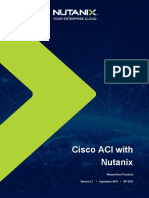 Cisco ACI with Nutanix