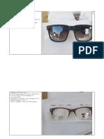 subasta monturas y lentes de sol