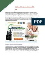 Green Crest CBD Oil
