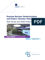 Russian Nuclear Modernization and Putin's Wonder-Missiles