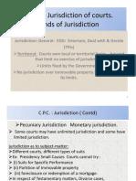 2. UNIT - 2  Jurisdiction of Courts (1-21 slide) - CPC (2).pptx