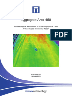 Aggregate Area 458 - Archaeological Assessment of 2018 Geophysical Data