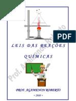 Leis das Reações Químicas - Profº Agamenon Roberto