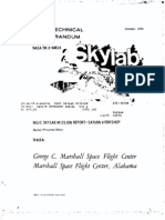 MSFC Skylab Mission Report Saturn Workshop