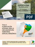 ley organica amazonia