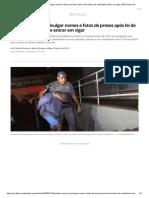 Polícias param de divulgar nomes e fotos de presos após lei de abuso de autoridade entrar em vigor _ São Paulo _ G1
