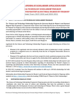 Vingroup_Masters & Doctoral S&T Scholarship Program Announcement 2019-20 & 20-21_...