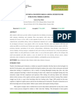 7. Ijrhal-Format- Development of Meta-cognitive Skills Among Students for Enhance Their Learning_proofread - Copy