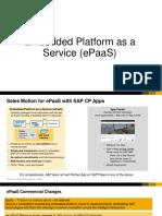 Embedded Platform as a Service (ePaaS)