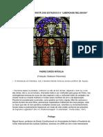 """A constituição cristã dos estados e a """"Liberdade Religiosa"""""""