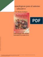 Plataformas tecnológicas para el entorno educativo
