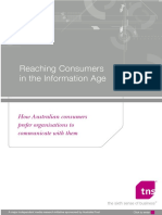 Reaching Consumers In The Information Age